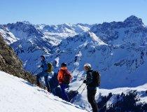 Skitour Allgäu Ifen Südseite 3 personen