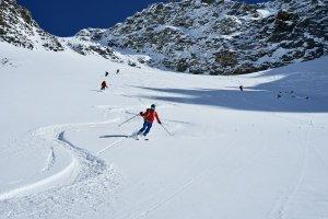 Skitouren Branca Hütte