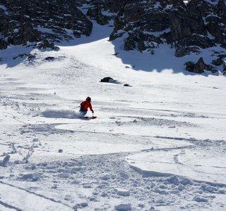 Skitour Allgäu Abfahrt Gaishorn 2