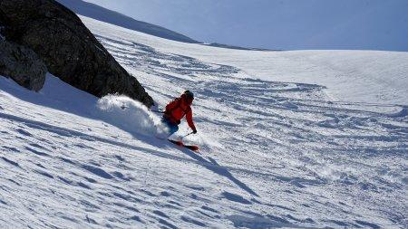 Skitour Allgäu Abfahrt Gaishorn im Pulver