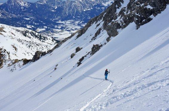 Skitour Allgäu Aufstieg Gaishorn