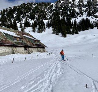 Skitour Allgäu Gaisshorn Willersalpe