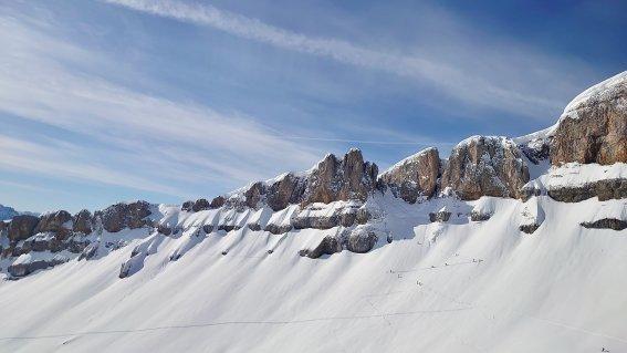 Skitouren Allgäu  Ifen Südseite