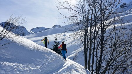 Skitour, St. Antönien, Schweiz