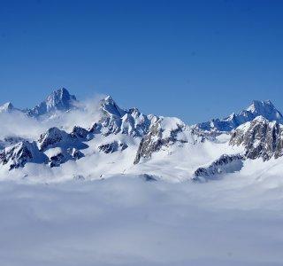 Aussicht von Poncione Val Piana, Val Bedretto, Schweiz