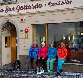 Tremola San Gottardo, Airolo, Schweiz
