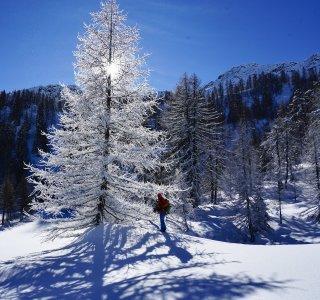 Auf Skitour in der Märchenwelt von Val Bedretto, Schweiz