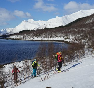 Skitouren Lofoten 2019 - Austnesfjorden