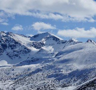 Musala, 2.925 m, der höchste Gipfel der Balkanhalbinsel, Rila Gebirge, Bulgarien