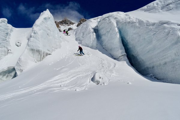 Courmayeur, Glacier Toula