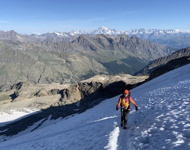 Hochtour auf Gran Pradiso, 4.061 m, Valle d'Aosta, Italien
