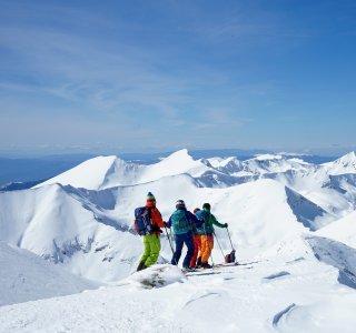 Auf Polejan Gipfel, 2.852 m, Pirin Gebirge, Bulgarien