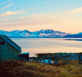 Skitouren Finnmark - Lille Altafjorden, Alteidet