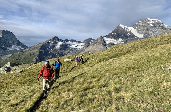 Wandern Alpen Haute Route