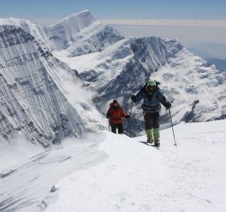 Kurz unterhalb des Gipfels der Putha Hiunchuli