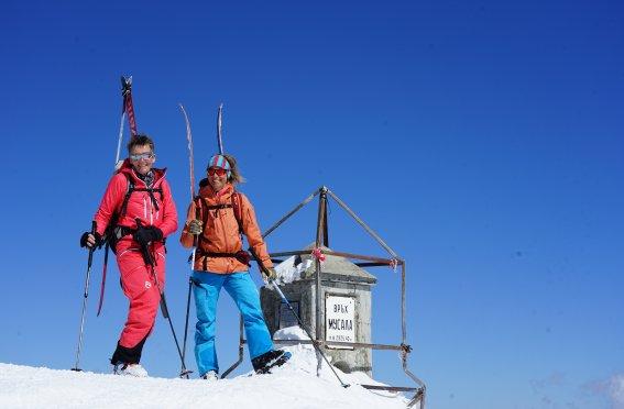Musala Gipfel Top of Balkan