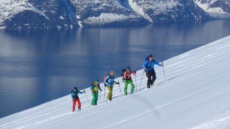 Skitouren Norwegen. Lyngen Alps