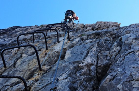 Edelrid Klettersteig, Oberjoch, Iseler