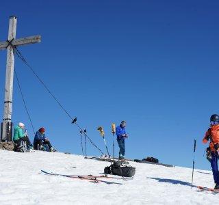 Gipfelkreuz Hoher Ifen