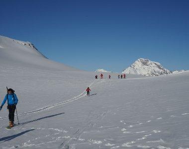 Auf dem Weg zum Col Mt. Brule