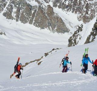 Col Mt. Brule, die letzten Meter