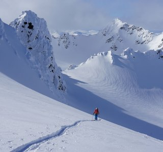 Lyngen Alps, Aifstieg Tafeltinden im Mai 2020