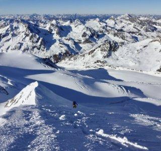 Panorama Ötztaler Alpen