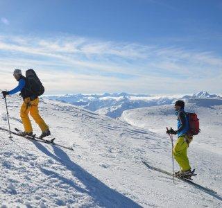 Aufstieg zur Wildspitze