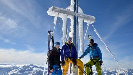 Skitour Wildspitze Gipfel