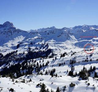 Schwarzwasserhütte Skitour Kurs - 5 von 8