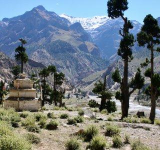 Landschaft beim Anmarsch zur Putha Hiunchuli