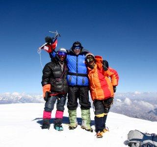 Auf dem Gipfel der Putha Hiunchuli