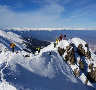Freeride Bulgarien, Nord-westgrad von Todorka Gipfel