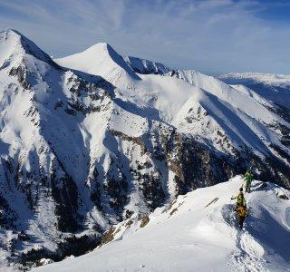Freeride Bulgarien Aufsteig zum Todorka Gipfel 2.747 m
