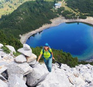 Sinanitsa See, Pirin Gebirge, Bulgarien