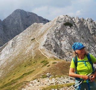 Wandern Bulgarien, Pirin National Park, Sinanitsa Gipfel 2.516 m