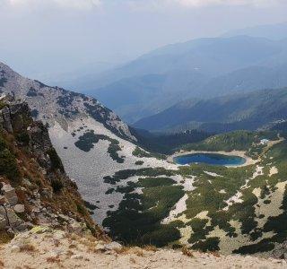 Wandern Bulgarien, Pirin National Park, Sinanitsa See
