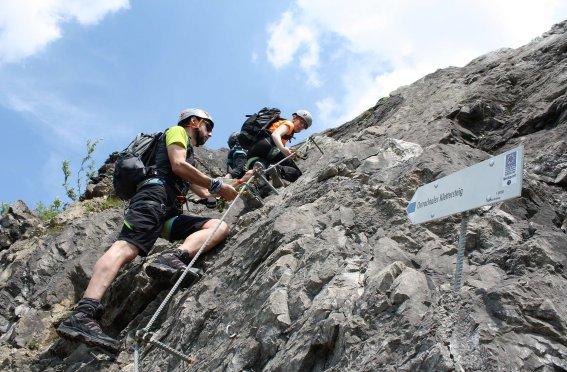 Ostrachtaler Klettersteig (1)
