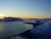 Mitternachtssonne Skitouren Lyngen Alps