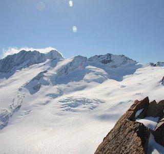 Berner Oberland Haute Route www.mountain-spirit.de Aufstieg Baechlital Luecke