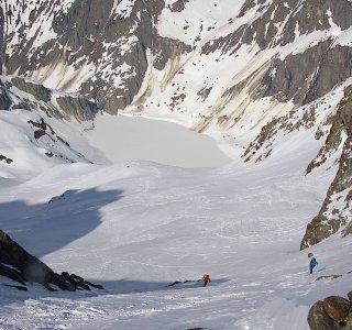 Berner Oberland Haute Route www.mountain-spirit.de Aufstieg Trifthuette