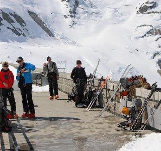 Berner Oberland Haute Route www.mountain-spirit.de Grimselpass Staumauer