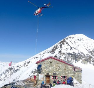 Die alte Mountet Hütte