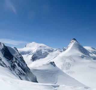 Allalin und Mt. Rosa