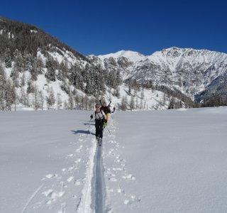 Skitour zum Testa dell'Autaret