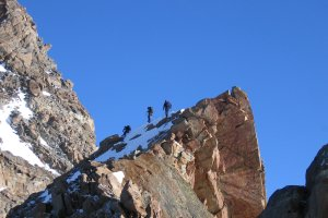 Monte Rosa schwer, Dufourspitze