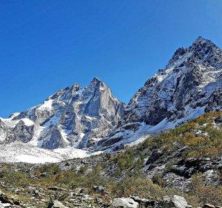 K-Wandern Georgien 4 Ushba Gletscher