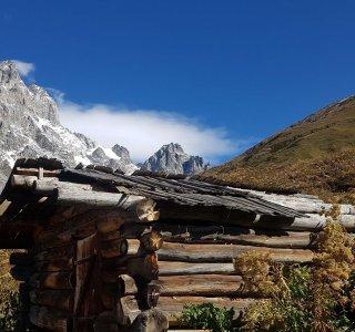 K-Wandern Georgien 11  Ushba Weg Guli Pass