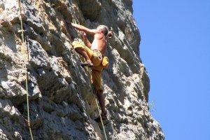 Klettern, Orpierre (1)