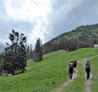 K-Wandern, Kurs, Schwarzenberg Hütte (2)